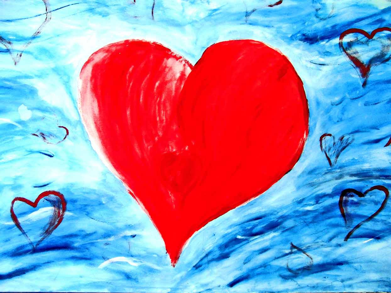 Im Mittelpunkt steht das Herz