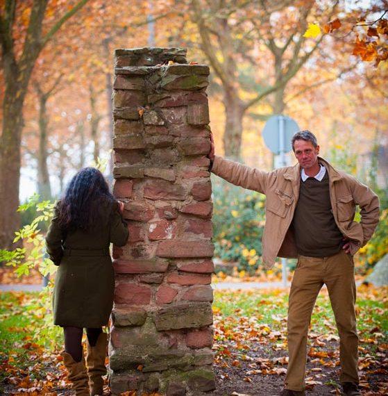 Mann weiß wo es lang ghet- immer und Frau versteht das natürlich nicht